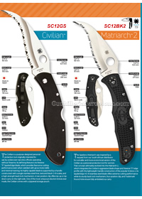 TACTICAL FOLDING KNIVES RESCUE Spyderco