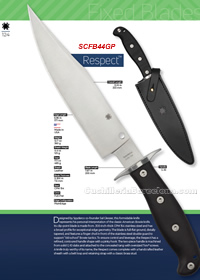 CUCHILLOS SUPERVIVENCIA RESPECT Spyderco