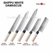 JAPANESE KNIVES SHIPPU WHITE Tojiro