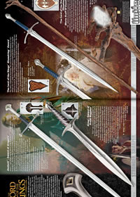 THE LORD OF THE RINGS FANTASTIC SWORDS UnitedCutlery