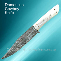 CUCHILLO DAMASCUS COWBOY Windlass