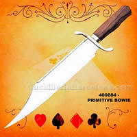 PRIMITIVE BOWIE KNIFE Windlass