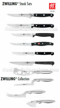 COUTEAUX VIANDE ET FROMAGE Zwilling